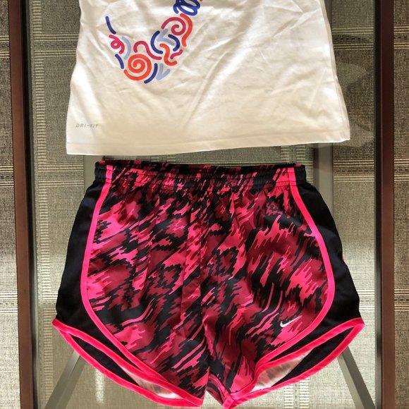 Nike Dri-Fit Running Shorts and Tank Top